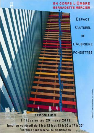 Exposition Espace Culturel l'Aubrière Fondettes 37