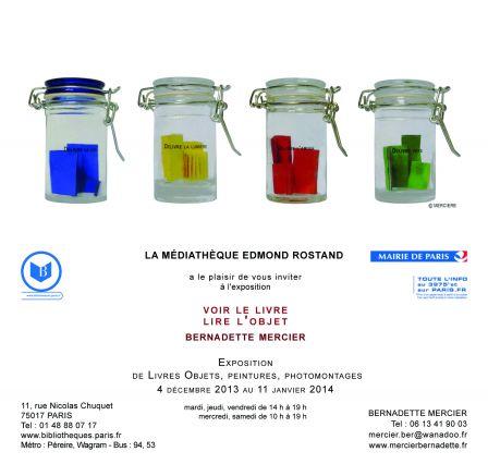 Exposition Médiathèque Edmond Rostand Paris 17